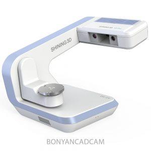 دقیق ترین اسکنر سه بعدی دندانپزشکی شاینینگ تری دی