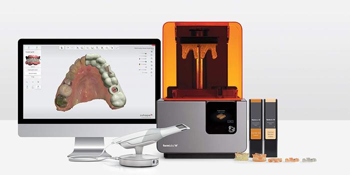 پرینتر دنتال سه بعدی پرینتر وکس