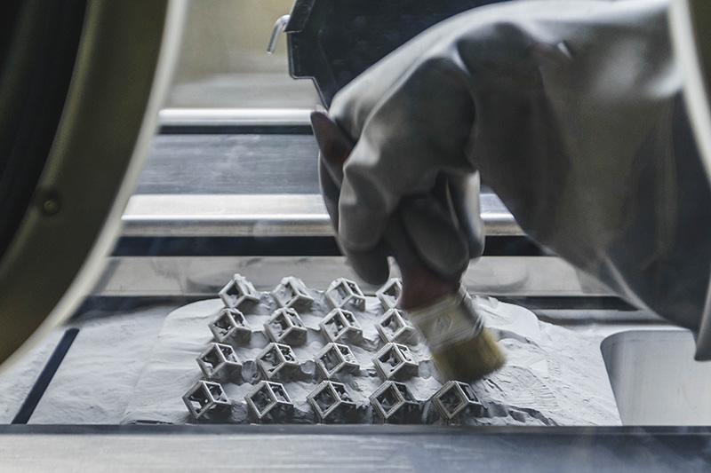 پرینتر های سه بعدی slm